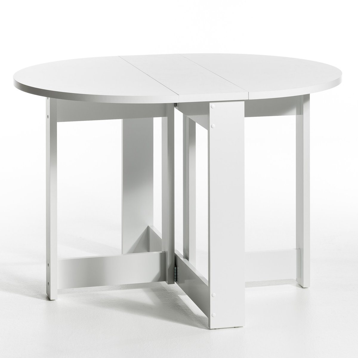 Table de jardin pliante ronde topiwall for Meuble cuisine table pliante