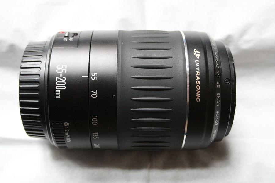 FBque #035 Canon EF USM 55 200 Ultrasonic per 600D 650D 500D 1100D 1Ds
