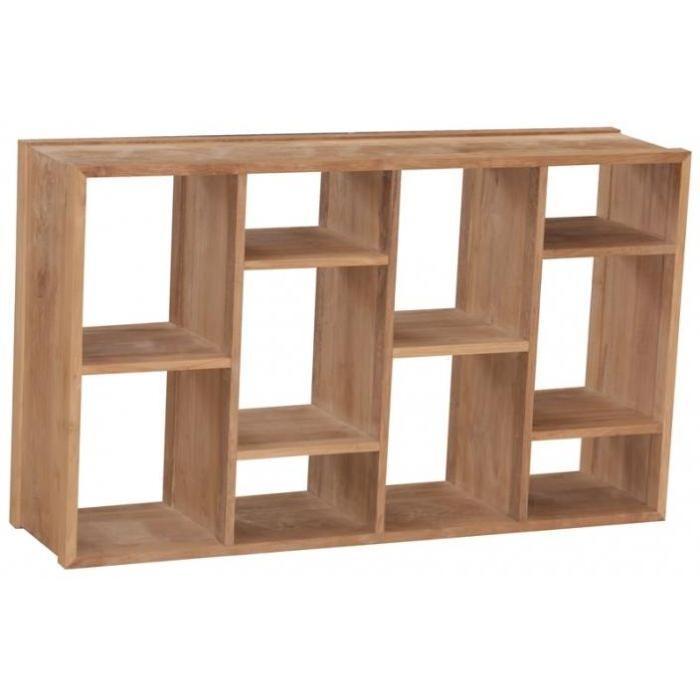 / Vente meuble étagère Etagère en teck brut Majala?