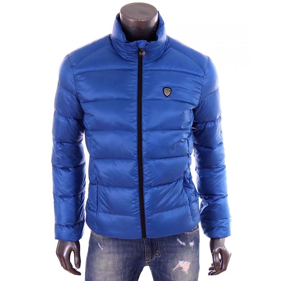 Armani EA7 Doudoune Emporio Armani bleu Golf club homme hiver 2015