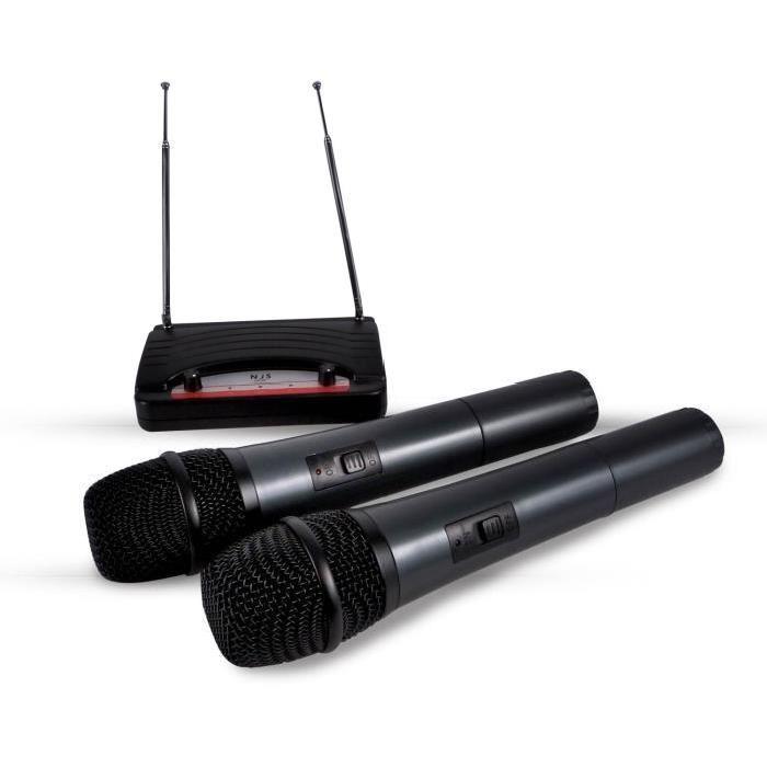 Micros sans fil, émetteur, récepteur NJS NJR 200 NJS VHF NJR 200