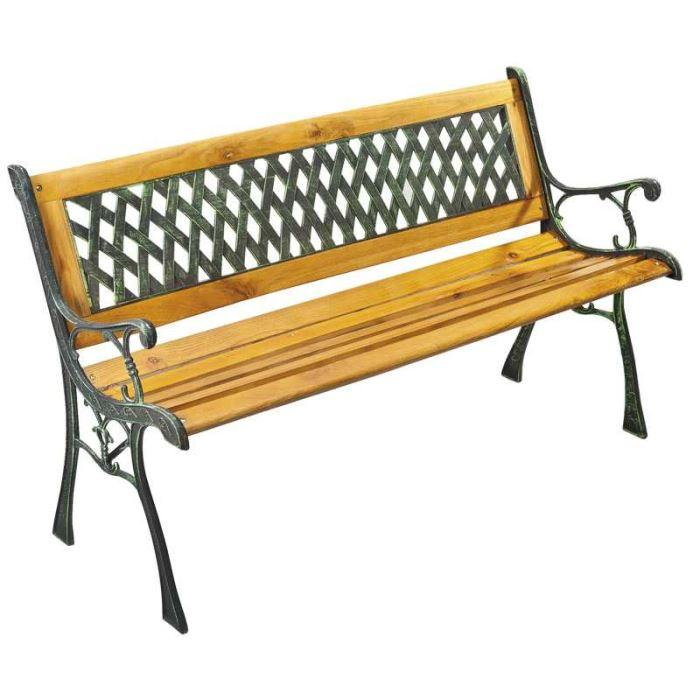 Banc de jardin topiwall for Banc jardin fonte