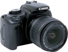 Appareil photo numérique Reflex 10.1 Mpix Kit Objectif 18 55mm Noir