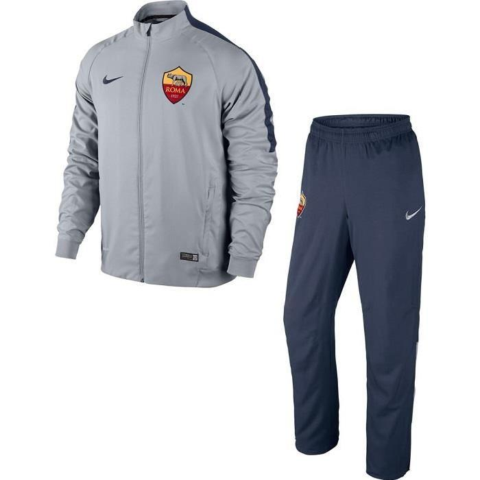 SURVETEMENT AS ROMA GRIS LIGUE DES CHAMPIONS 2015″ MAILLOT DOMICILE