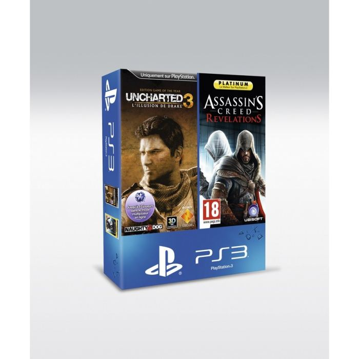 BI PACK UNCHARTED 3 GOTY + AC Revelations PLAT Achat / Vente pack