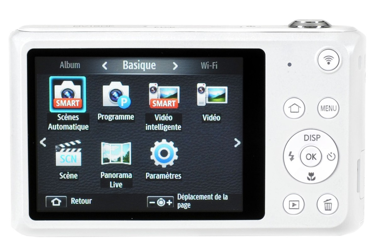 Appareil photo compact Samsung DV150F BLANC + ETUI (3727424) |