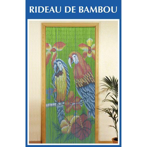 Rideau bambou topiwall - Rideaux de porte pas cher ...