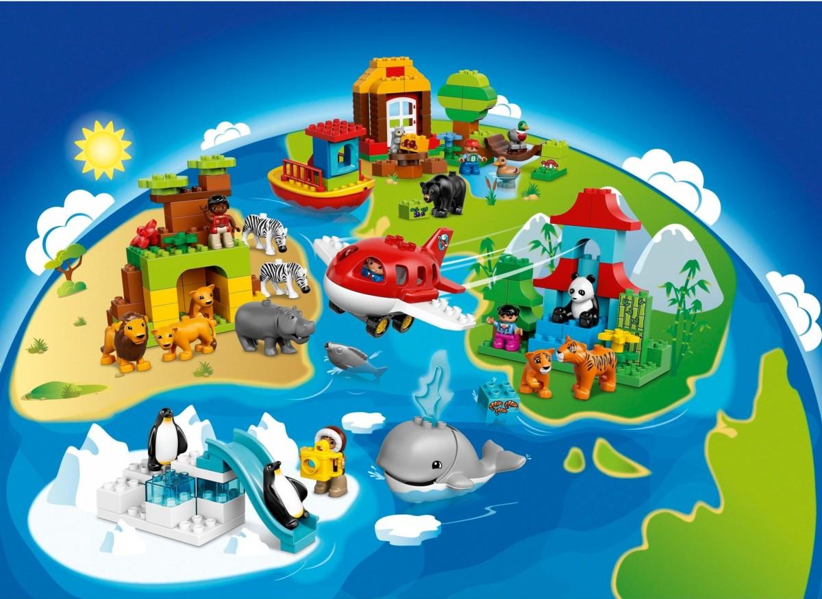 LEGO 10805 DUPLO Le Tour du Monde: Jeux et Jouets