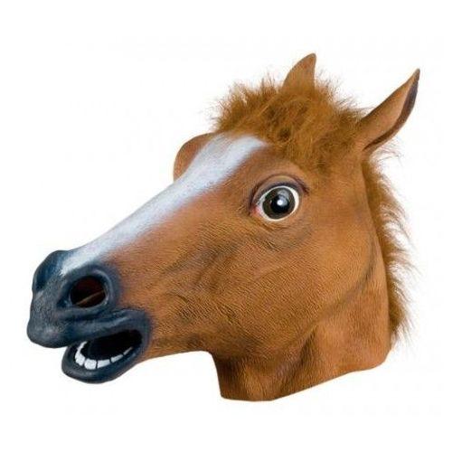 Masque Tête De Cheval Latex Integral Cosplay Fun Masque