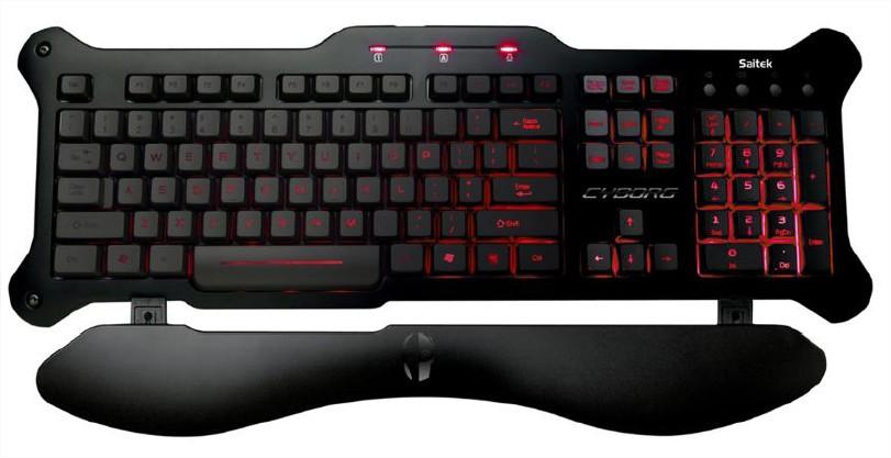 MADCATZ Mad Catz V.5 Clavier Gaming pour PC clavier Noir mat PC / Mac
