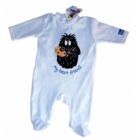 Barbapapa Pyjama Dors Bien en velours pour T. 1? Bleu Achat