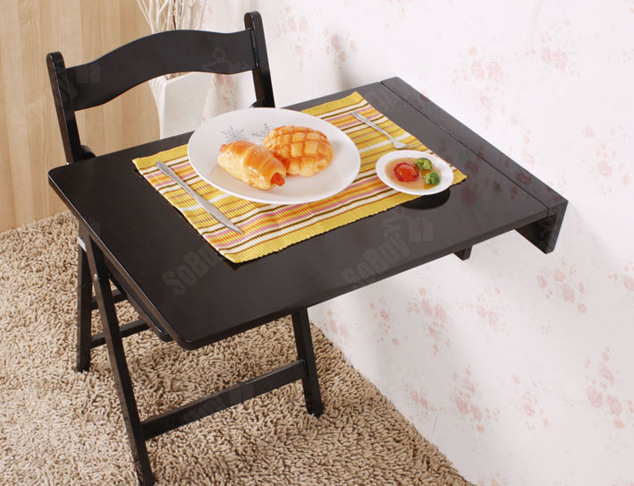 Table rabattable murale topiwall for Petite table rabattable