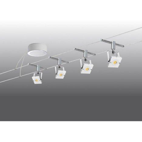 Type de spot : Rail / câble Type de culot : LED Nombre de lumières