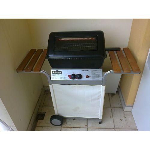 Barbecue a gaz pierre de lave Florabest FGG 5.5 A1 pas cher