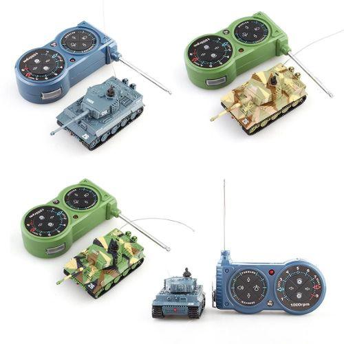 72 Mini Tank Char Assaut Véhicule Rc Télécommande Jouet Miniature