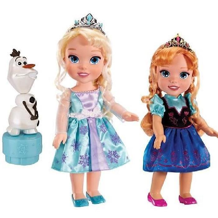 poupée la reine des neiges coffret anna elsa olaf Achat / Vente