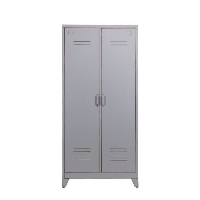 armoire de rangement metallique topiwall. Black Bedroom Furniture Sets. Home Design Ideas
