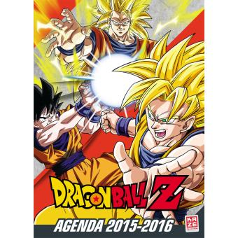 Dragon Ball Z Agenda scolaire 2015 2016 Dragon Ball Z Collectif