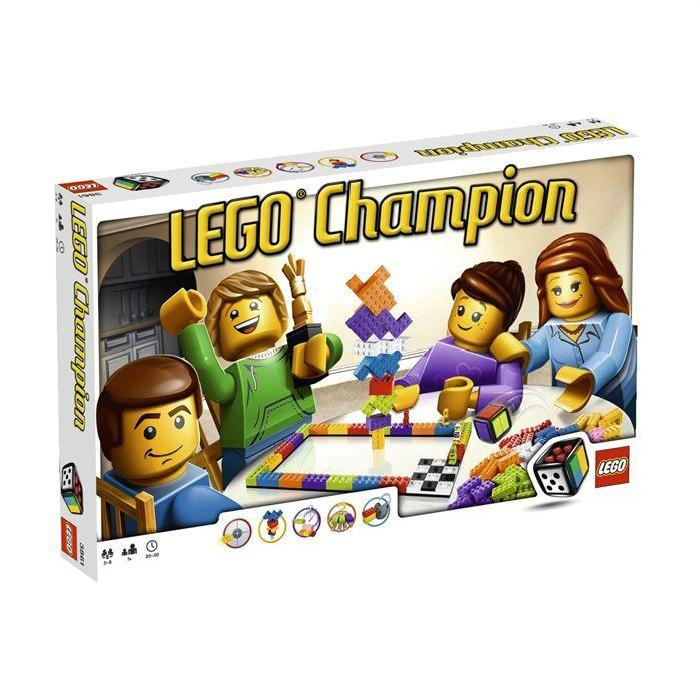 Lego Games Lego Champion Achat / Vente assemblage construction