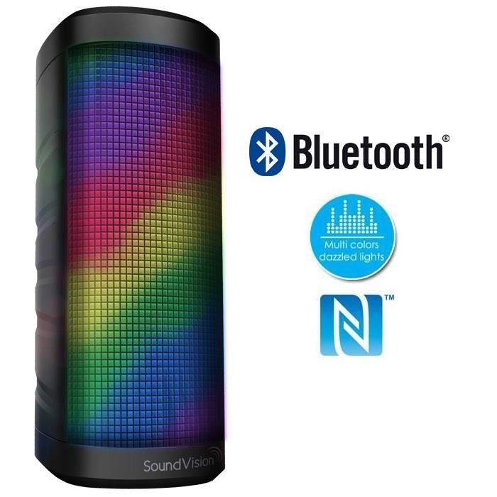 SOUNDVISION SV Disco Enceinte portable Bluetooth enceintes bluetooth