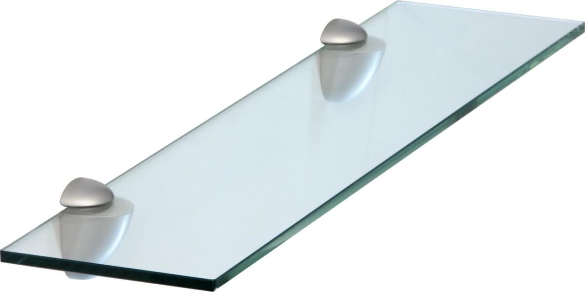 Étagère murale en verre 8 mm | clair et satiné?9