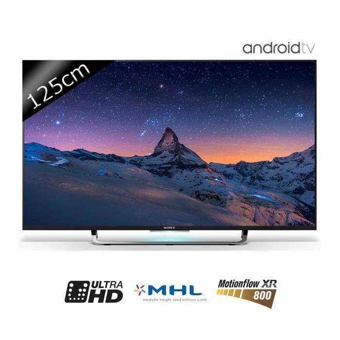 TV KD49X8305C UHD 4K 125cm (49 pouces) LED 4 HDMI Smart TV