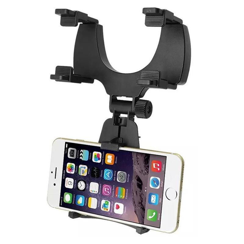 rétroviseur Mount Stand support téléphone portable GPS porte