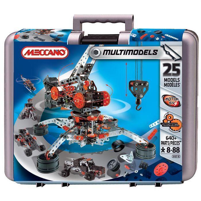 Meccano Mallette Super Construction Achat / Vente assemblage