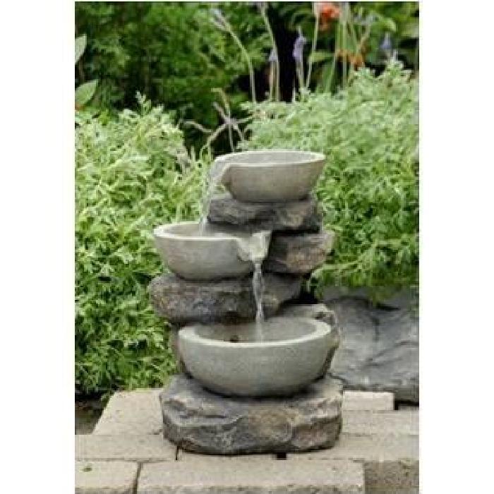 Fontaine Cascade d eau Décorative Achat / Vente fontaine de jardin