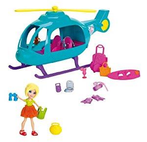 Polly Pocket Y0972 Poupée et Mini Poupée Hélicoptère de