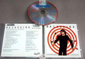 Daniel Balavoine CD Album Vendeurs De Larmes