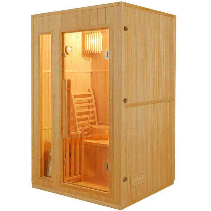 Sauna traditionnel finlandais 2 places Achat / Vente kit
