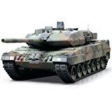 TAMIYA 300056020 Char radiocommandé Leopard 1:16 4 canaux 40