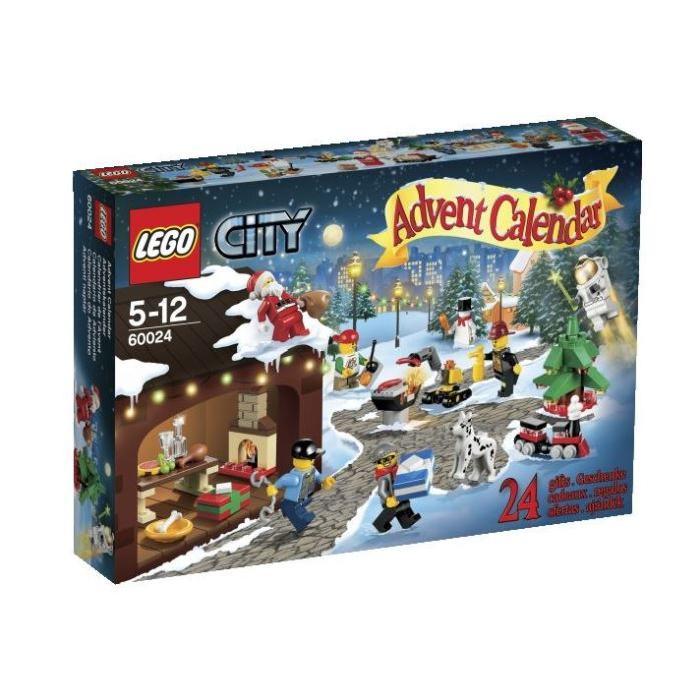 ASSEMBLAGE CONSTRUCTION LEGO 60024 Calendrier de l' Avent LEGO® City