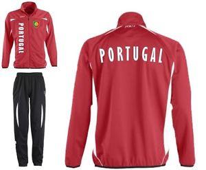 PORTUGAL Veste et pantalon de Survêtement Football Sport S M L XL