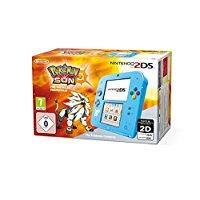 Console Nintendo 2DS : bleu + Pokémon Soleil Préinstallé édition