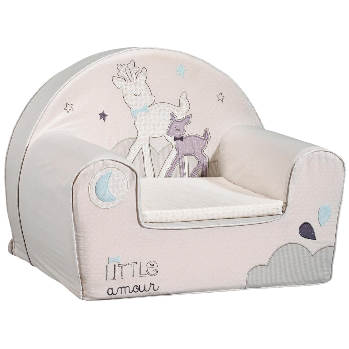 Noisette fauteuil club Beige de Sauthon Baby Déco, Fauteuils : Aubert