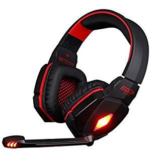 KingTop EACH G4000 stéréo Gaming Casque casque à écouteurs bandeau