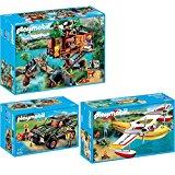 Playmobil 3217 Les Aventuriers Aventuriers + Campement