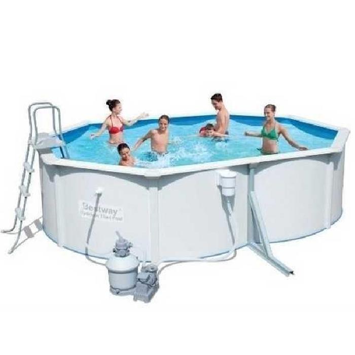 Piscine hors sol acier Bestway 4.88×3.66×1.22m Achat / Vente piscine