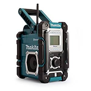 Makita DMR108 Portable Noir, Bleu Radio portable Radios portables