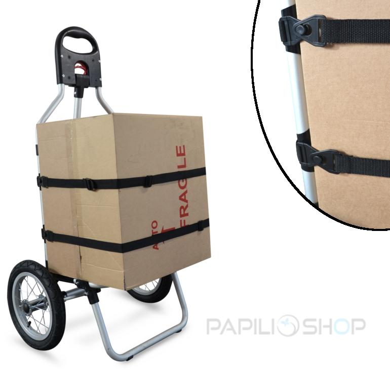GEKO Remorque vélo pour le trasport à de cyclotourisme trolley cargo