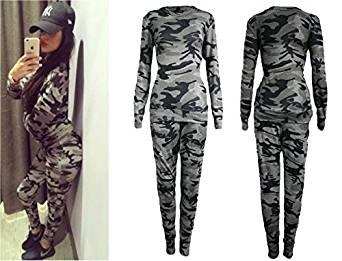 Femme, Imprimé Militaire, M L 40 42: Vêtements et