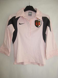 Polo Stade Toulousain Nike Femme Chemisier Maillot Rugby