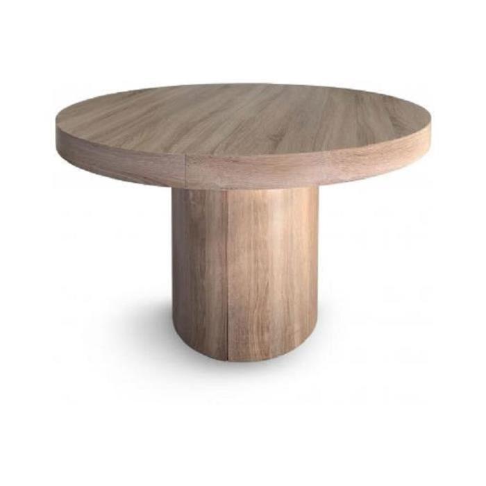 Table Ronde Extensible Chêne WAEL Achat / Vente console extensible