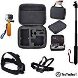TecTecTec XPRO2 Caméra Sport 4K avec Montre Télécommande