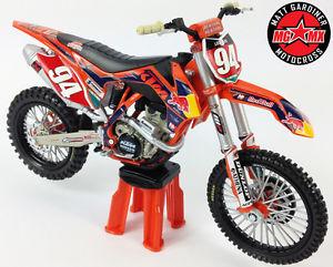 KEN ROCZEN REDBULL KTM SXF250 1:12 Moulé Motocross MX Jouet Miniature