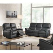 Canapé 2 ou 3 places relax électrique cuir DOLA 2 ou 3 places
