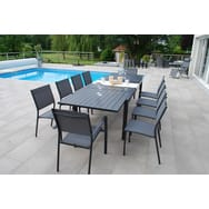 Best Table De Jardin Aluminium Gris Pictures - Amazing House Design ...