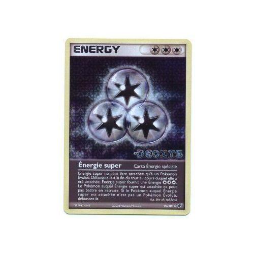 Pokemon Francaise Ex Deoxys Holo N° 93/107 Énergie Super